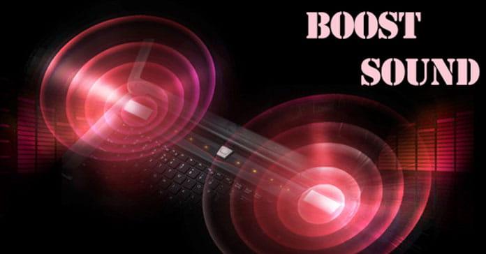 تقویت صدای لپ تاپ