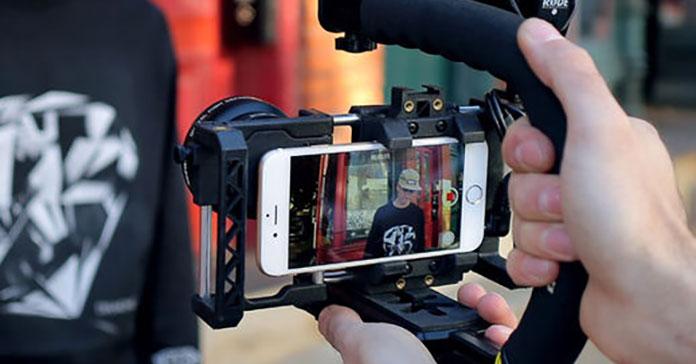ضبط حرفه ای فیلم با گوشی هوشمند